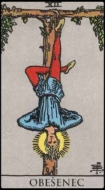 12. The Hanged Man (Obesenec)
