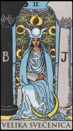 2. The High Priestess (Velika Svecenica)